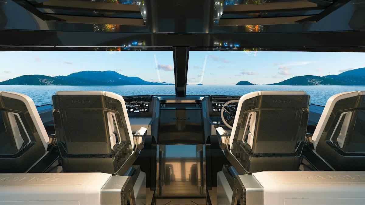 """Construido en aluminio, la embarcación tiene mucho que ofrecer incluyendo un sinnúmero de """"innovaciones Wajer""""."""