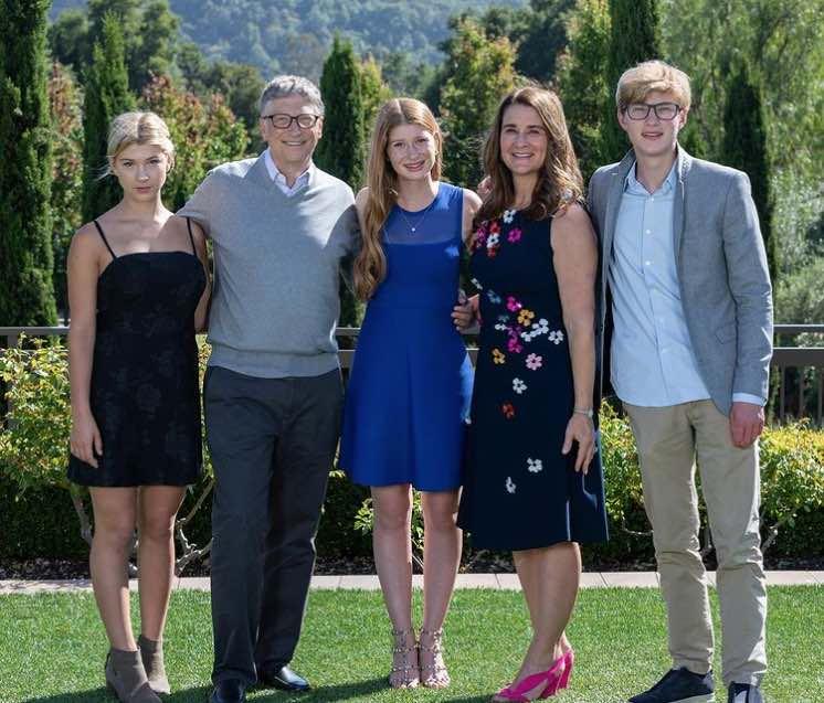 Bill Gates y Melinda Gates - Familia