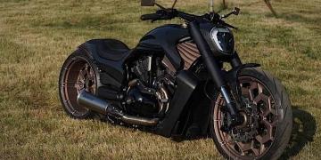 Box39 convierte una Harley-Davidson V-Rod de 2014 en la diabólica Giotto, la primera en una larga fila