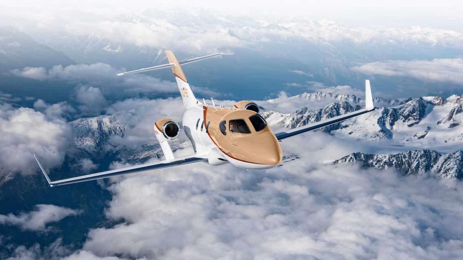 Honda Aircraft presenta el jet de negocios HondaJet Elite S