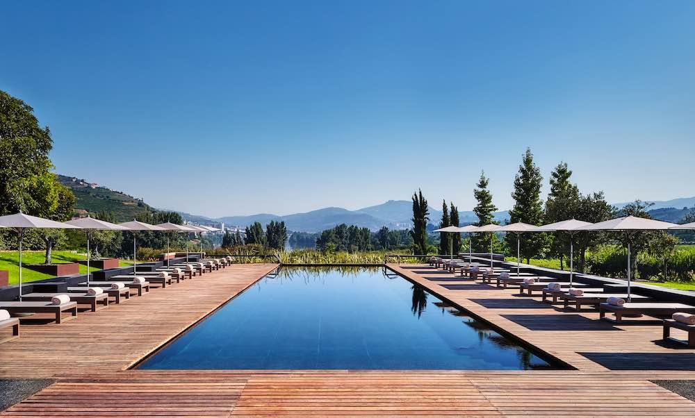 Las piscinas de hotel más tentadoras del verano: Six Senses Douro Valley