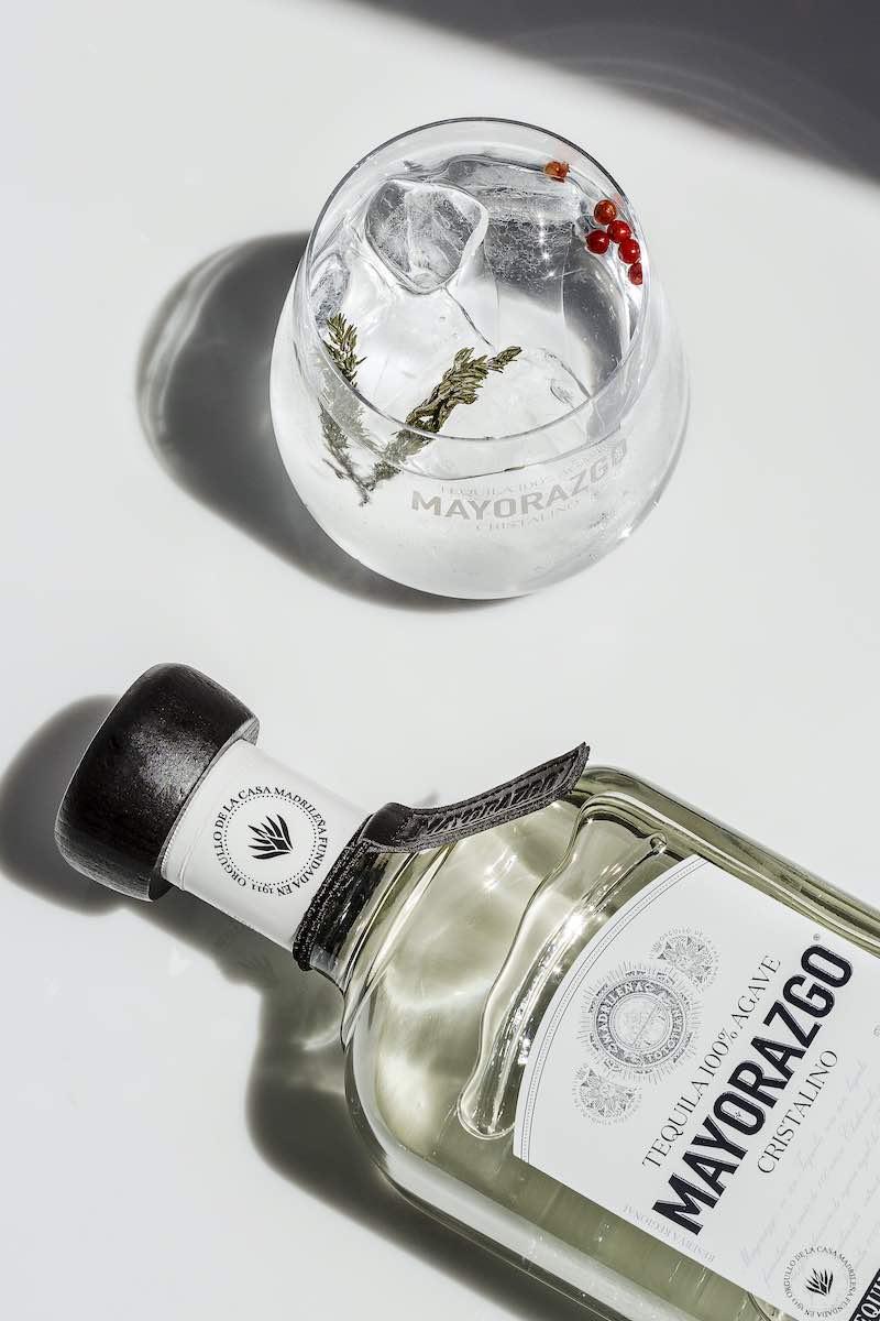 Tequila Mayorazgo Cristalino se presenta en Dinner in the Sky