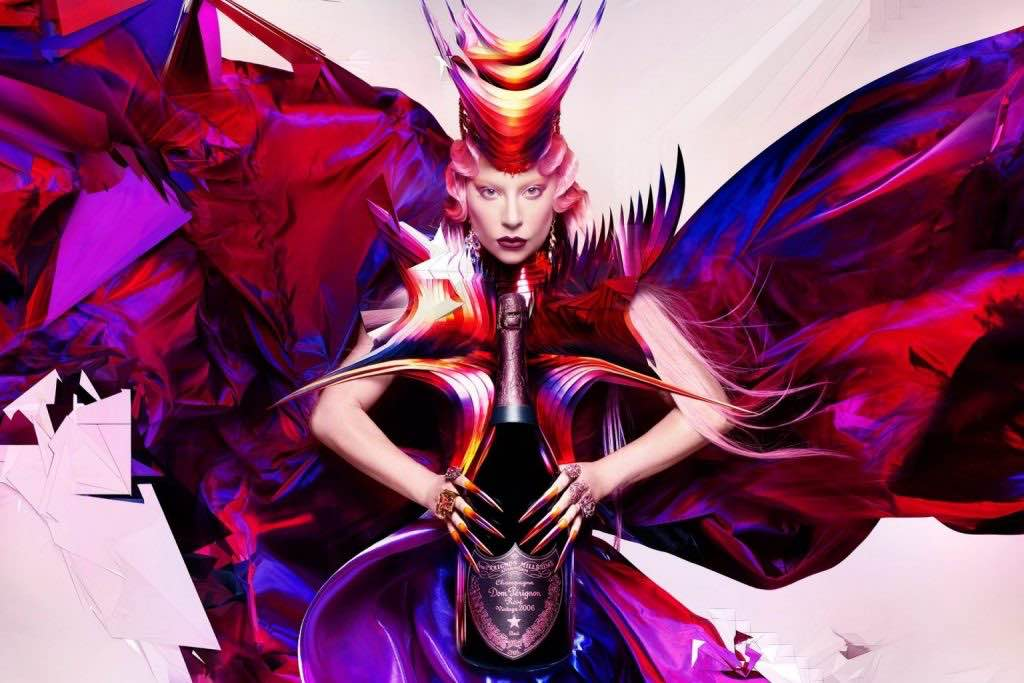 """Lady Gaga y Dom Pérignon celebran el """"Queendom"""""""