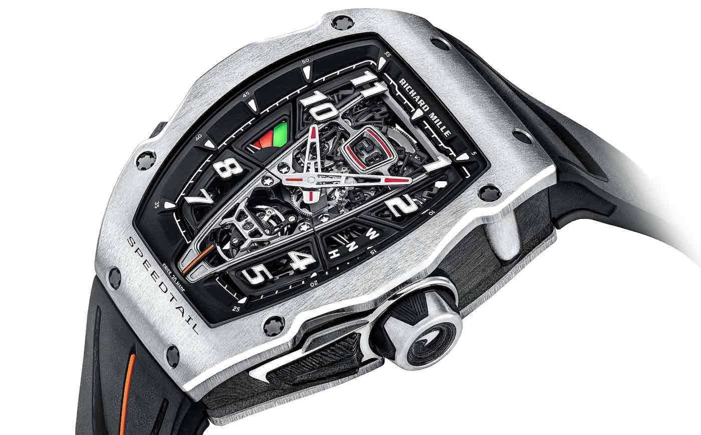 Richard Mille y McLaren presentan el exclusivo reloj RM 40-01 Speedtail