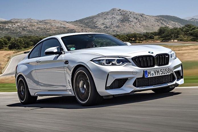 Coches de pista legales para la carretera: BMW M2 Competition 2021