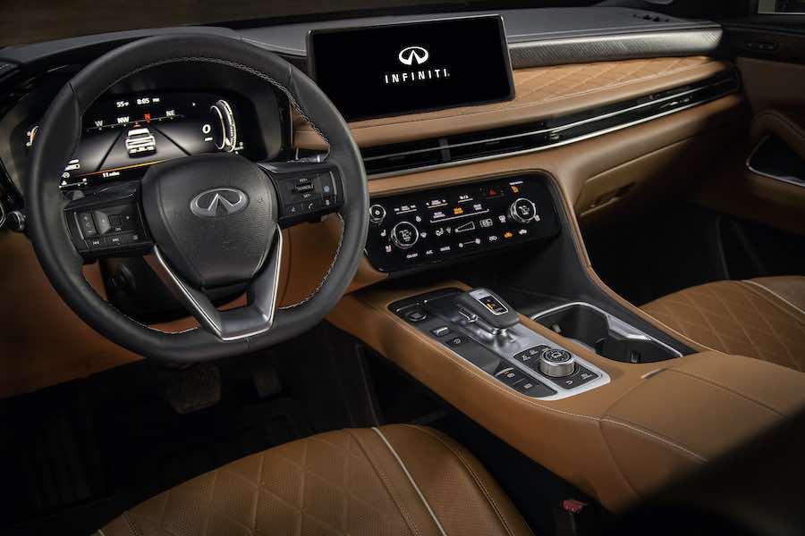 Innovación tecnológica de la SUV de lujo.