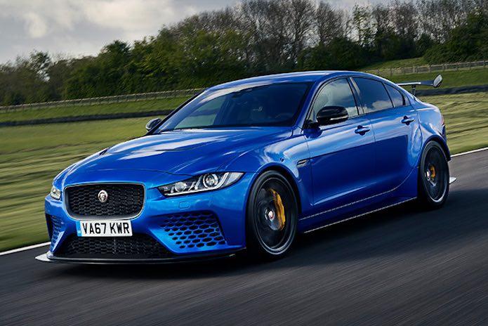 Coches de pista legales para la carretera: Jaguar XE SV Project 8 2019