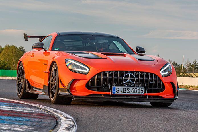 Coches de pista legales para la carretera: Mercedes-AMG GT Black Series 2021
