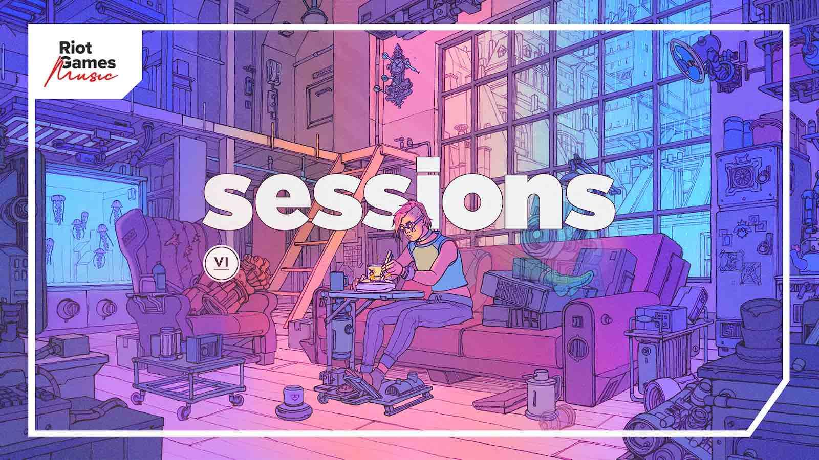 Riot Games presenta Sessions, una nueva colección de música gratuita para creadores