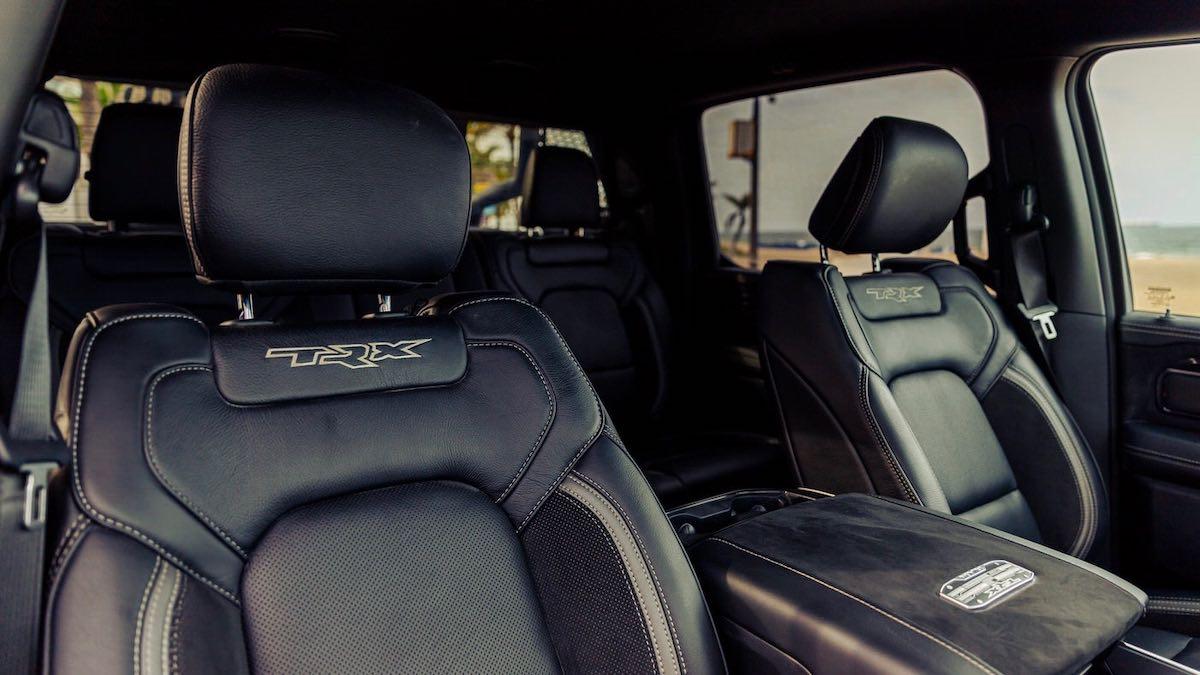 Interior del truck.