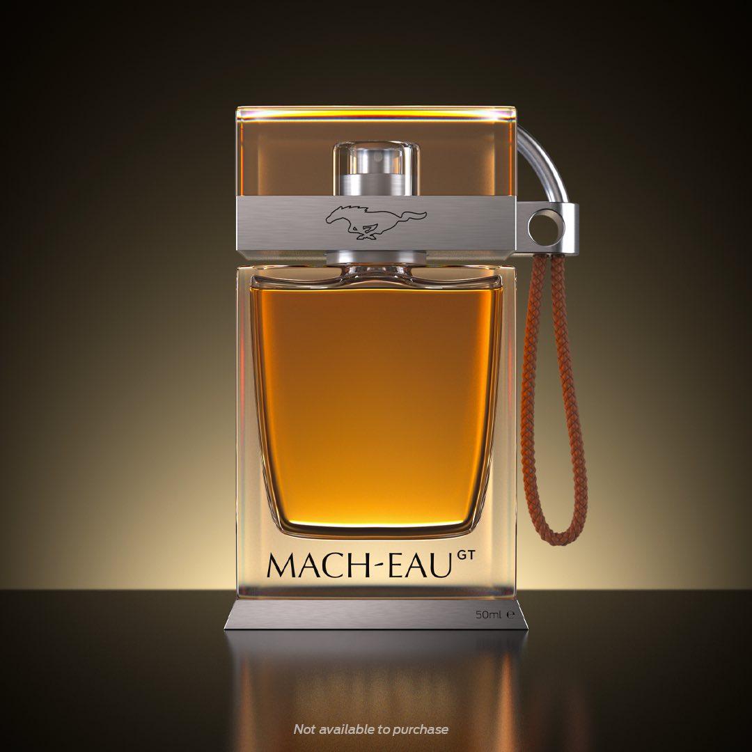 La fragancia Mach-Eau para los amantes del Mustang Mach-E GT