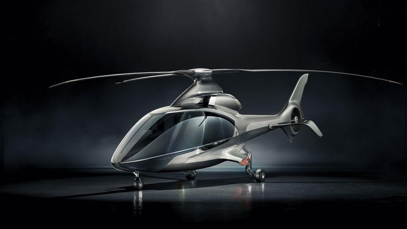 El helicóptero HX50 cuenta con una estructura y un sistema de rotores de materiales compuestos, un motor optimizado, una aviónica reimaginada y un elevado diseño interior.
