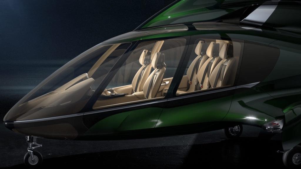 La nueva apuesta de Hill Helicopters, el helicóptero HX50