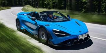 McLaren 765LT Spider, el convertible más potente jamás fabricado por la marca británica de superdeportivos