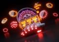 Concepto de juego de casino en línea