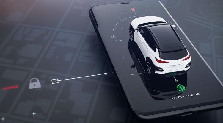 Smartphone para control remoto del automóvil (entrada con llave remota)