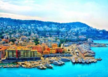 Hermosa ciudad de Niza. Resort de lujo de la riviera francesa. Cote d'Azur, Francia.