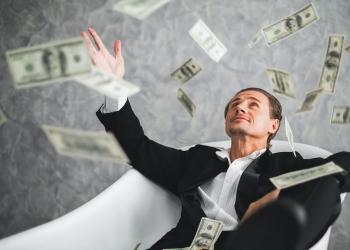 Hombre de negocios, rico, millonario, multimillonario
