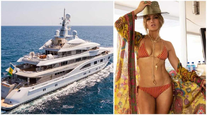 Conoce el descomunal superyate Valerie, la mansión acuática de 130 millones de dólares donde Ben Affleck y Jennifer López celebraron el cumpleaños 52 de la diva