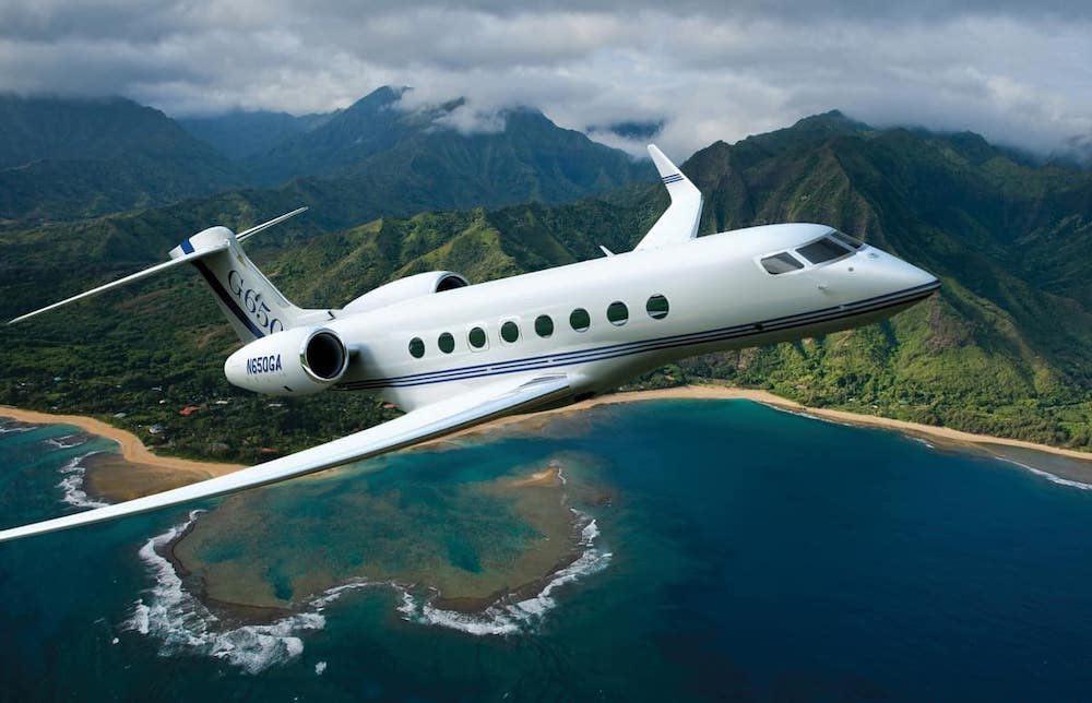 Las mejores aeronaves pequeñas que puedes comprar hoy: Gulfstream G650
