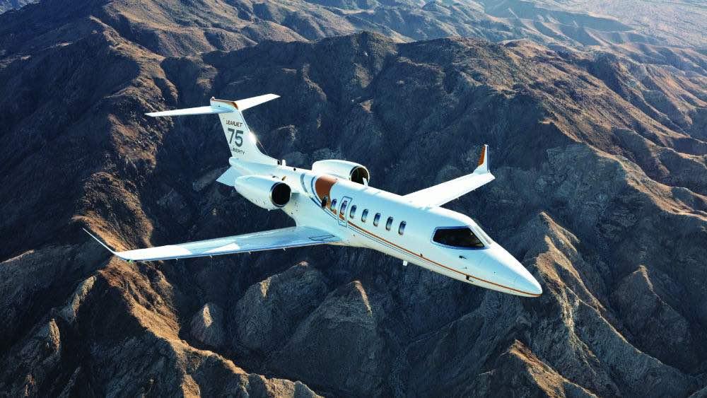Las mejores aeronaves pequeñas que puedes comprar hoy: Learjet 70/75