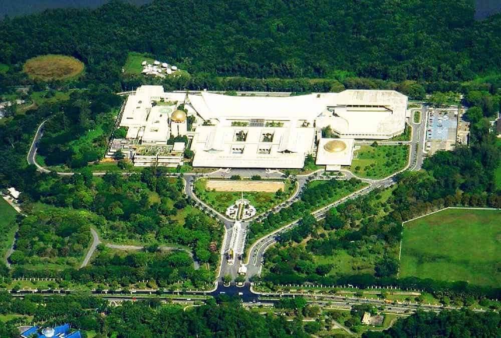 Las casas más grandes del mundo: Palacio Istana Nurul Iman