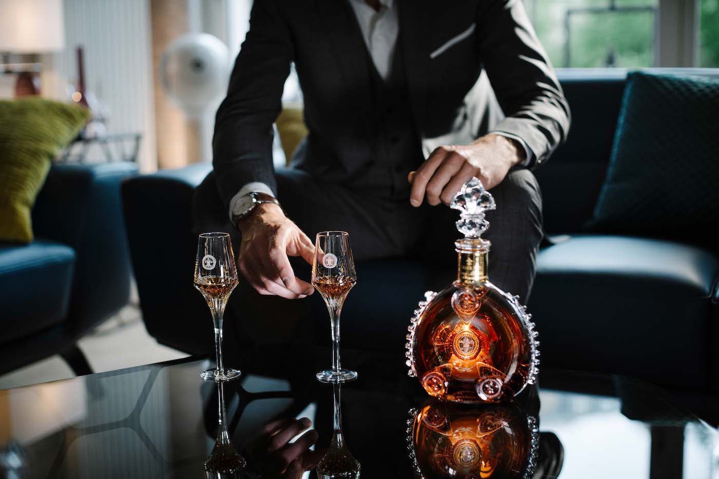Como tomar cognac con LOUIS XIII