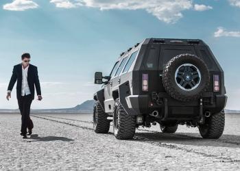 Poderoso todoterreno RHINO GX de US Specialty Vehicles