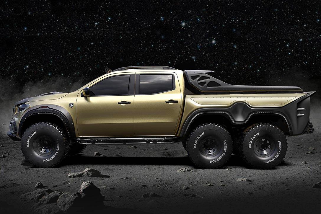 Las mejores camionetas todoterreno 6×6 de 2021: Carlex Design Exy