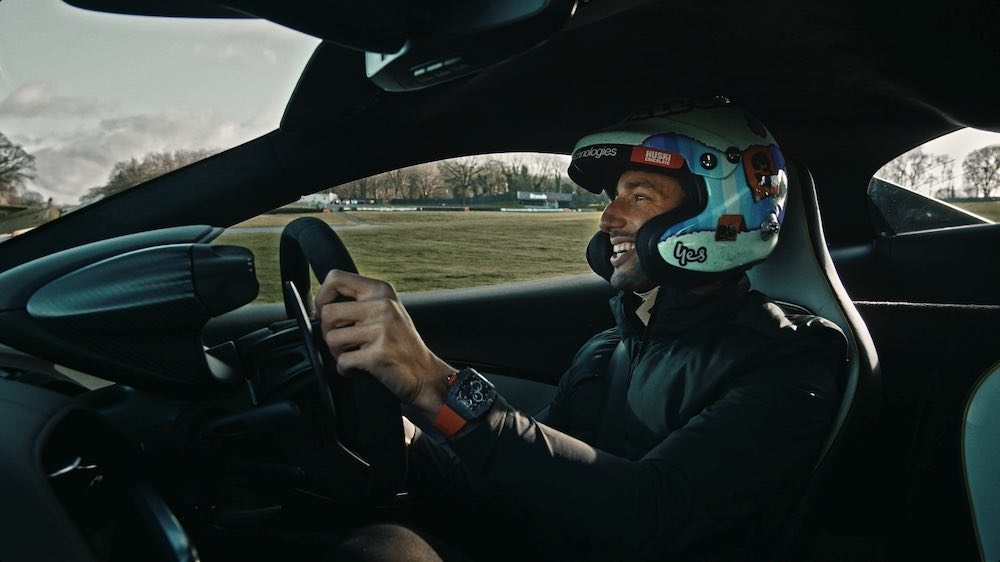 Daniel Ricciardo + McLaren