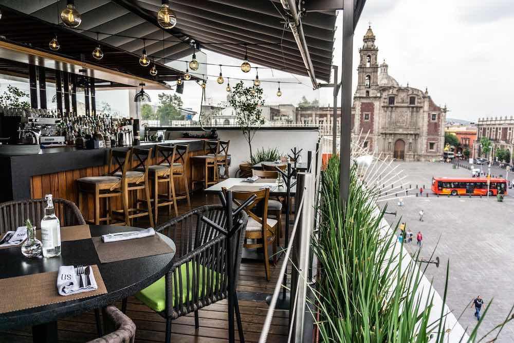 Los hoteles con las mejores terrazas en México: Domingo Santo Hotel Boutique