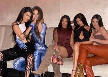 Las hermanas Kardashian-Jenner: Kourtney, Khloé, Kim, Kylie y Kendall. Crédito de la foto @khloekardashian / Instagram