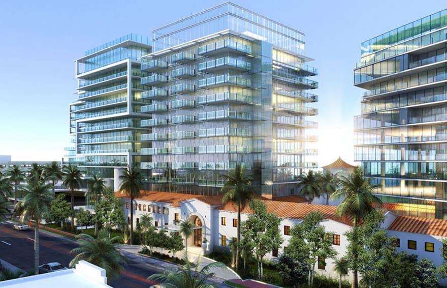 Los edificios de condominios más caros de Miami: The Surf Club Four Seasons