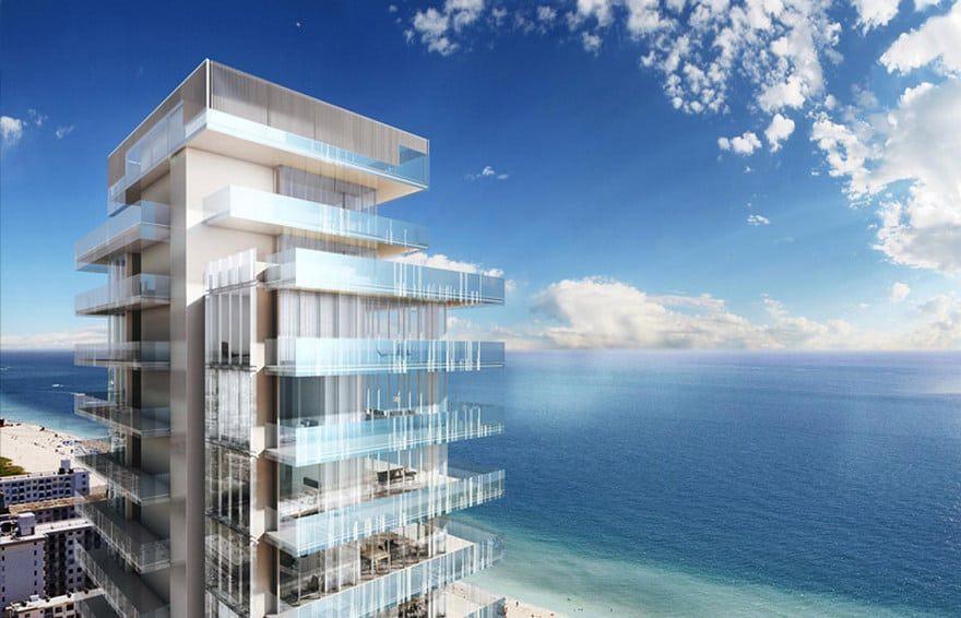 Los edificios de condominios más caros de Miami: Glass Miami Beach