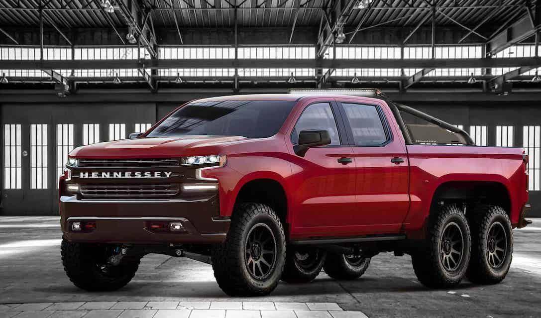 Las mejores camionetas todoterreno 6×6 de 2021: Hennessey Goliat 6×6