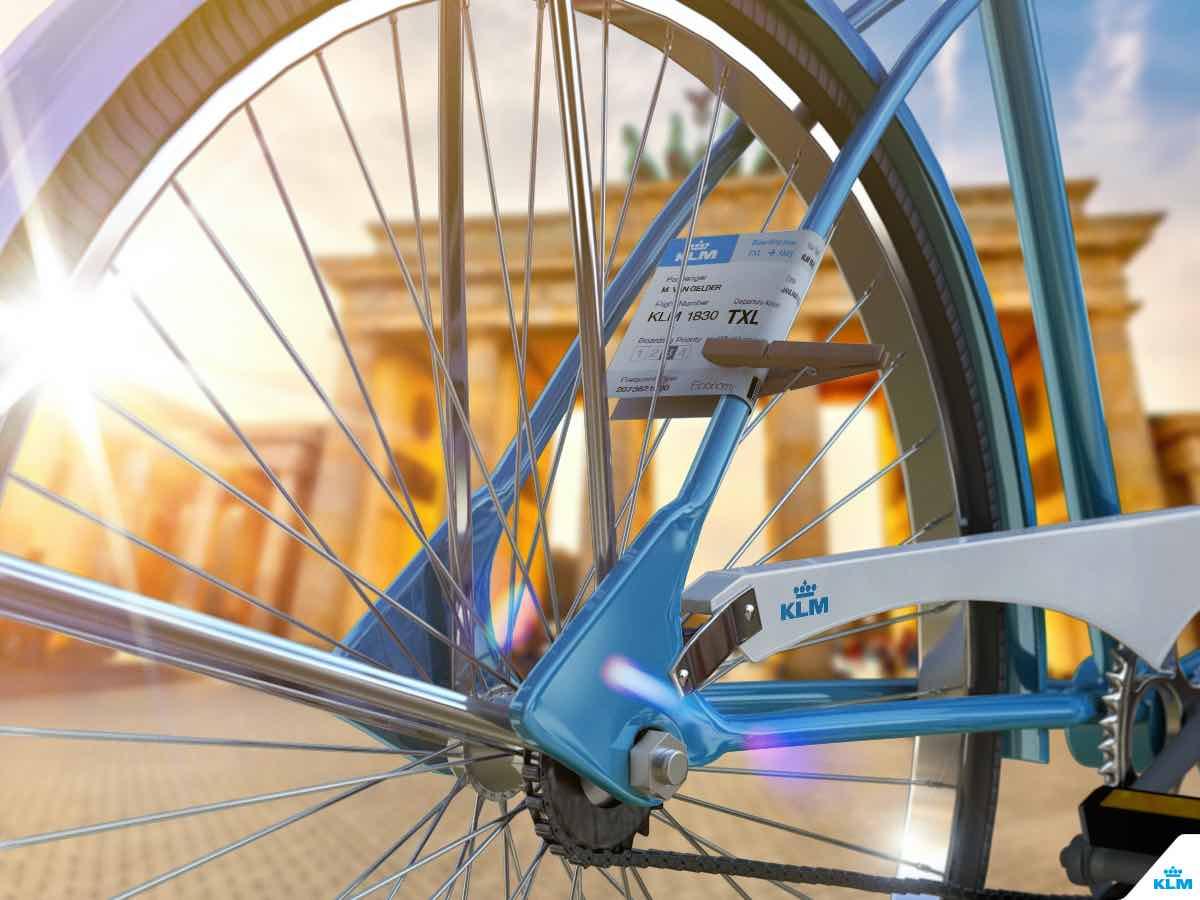 ?Rodada a Ámsterdam: ¡Gánale al avión con tu bici!?, la carrera virtual de ciclismo que organizan Decathlon y KLM Royal Dutch Airlines