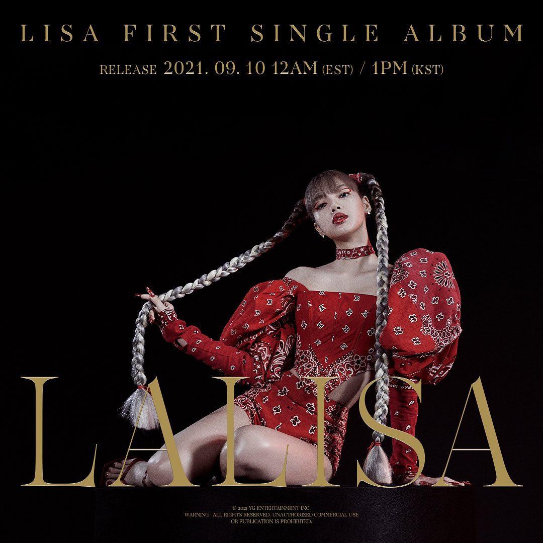 Lisa de Blackpink hace su debut como solista con 'LALISA'
