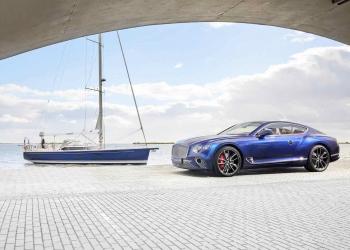 Lujoso interior de un Bentley hecho a mano inspira el diseño de un yate de lujo a medida