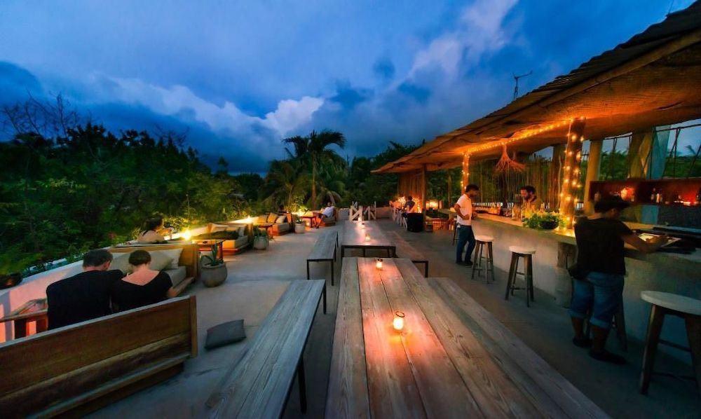 Los hoteles con las mejores terrazas en México: Mamasan Treehouses & Cabins en Tulum, Quintana Roo.
