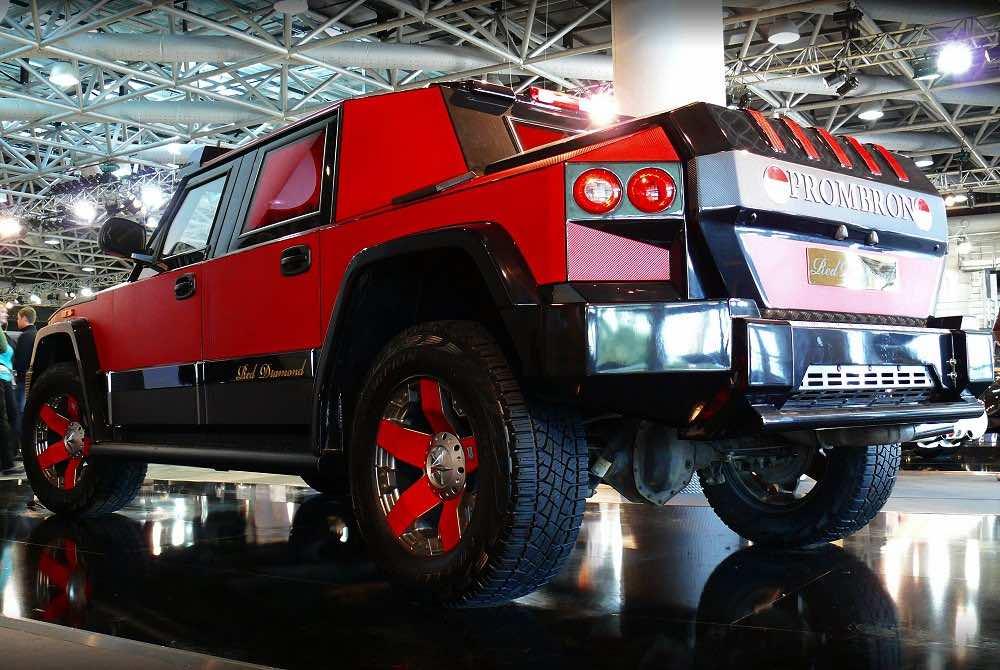 La colección de coches de las Kardashian: Prombron Red Diamond