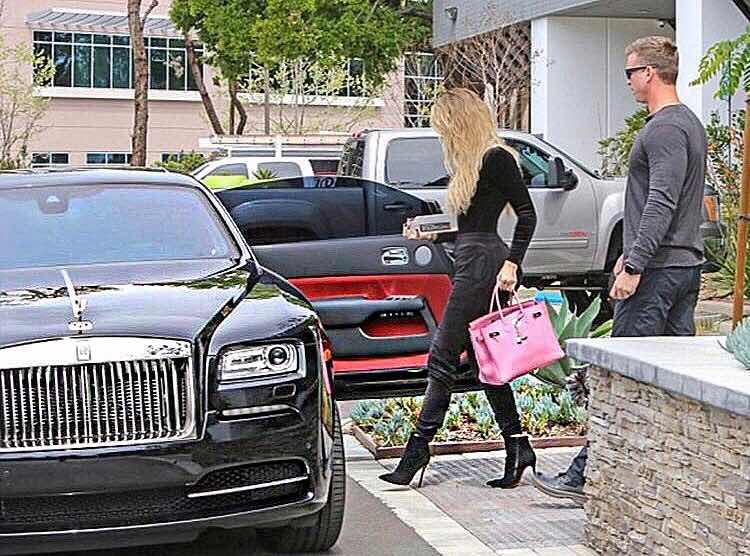 Rolls Royce de Khloe Kardashian
