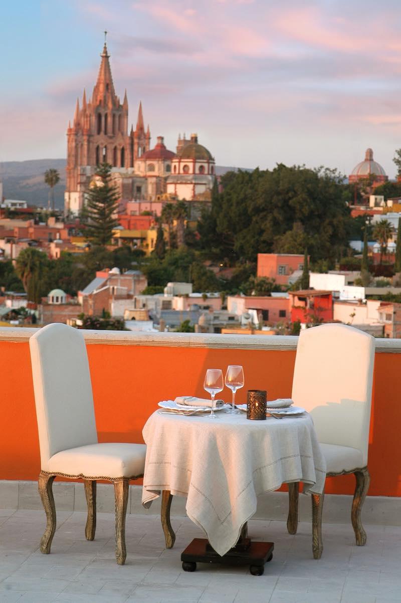 Rosewood San Miguel De Allende en San Miguel de Allende, Guanajuato.
