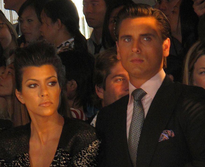 Scott Disick & Kourtney Kardashian en el 2010