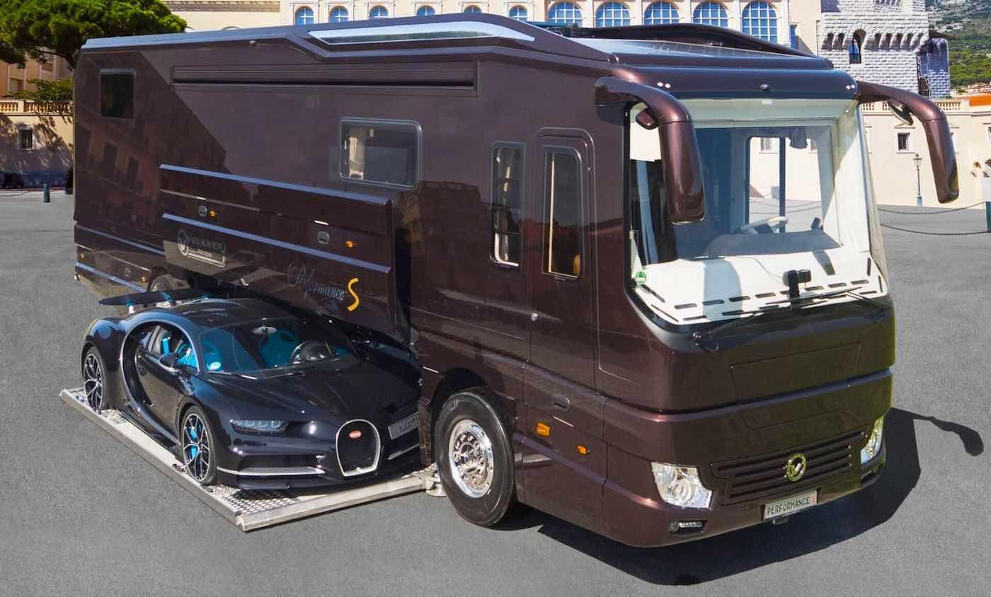 Volkner presenta su lujosa autocaravana Performance S 2021 de 7,7 millones de dólares