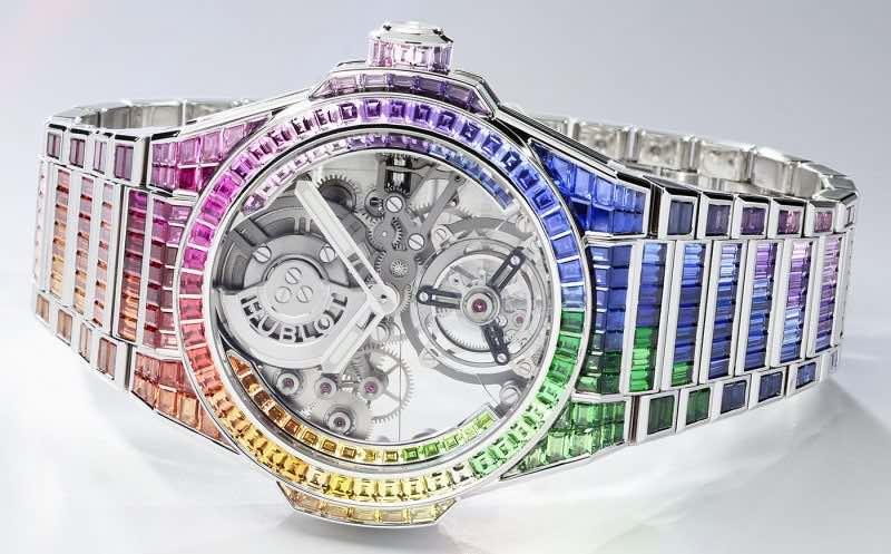 Reloj Hublot Big Bang Integral Tourbillon Rainbow