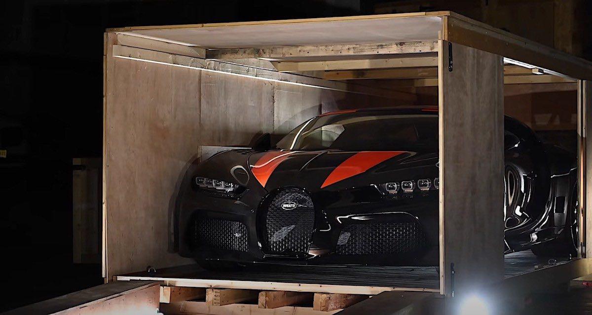¡El primer unboxing de doble Bugattis en la historia!