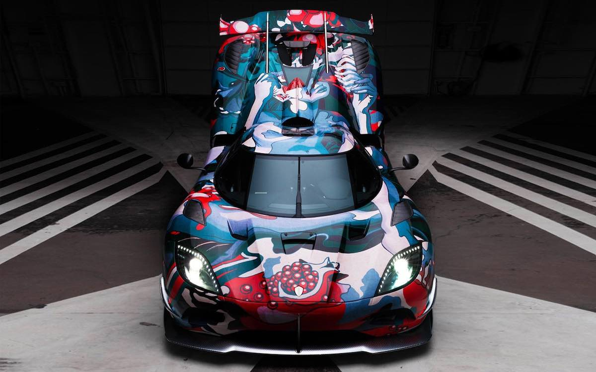 James Jean x Koenigsegg Agera RS