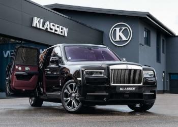 Rolls-Royce Cullinan blindado de Klassen