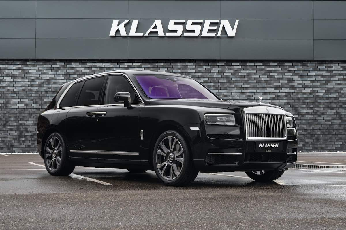 Este Rolls-Royce Cullinan blindado de Klassen cuesta casi un millón de dólares