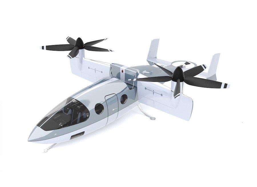 Este VTOL de 6 millones de dólares lleva los vuelos de lujo a otro nivel